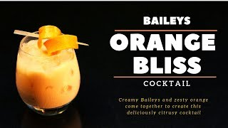 How to make Cocktail in Hindi -Baileys Orange Bliss | Two minutes Cocktail | Cocktail Recipe |