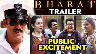 Bharat Trailer | PUBLIC REACTION | Salman Khan Katrina Kaif
