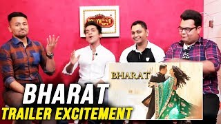 BHARAT Trailer Excitement | Salman Khan Fans Reaction | Awam Ki Awaz