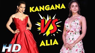 Kangana Ranaut Vs Alia Bhatt | Who Is BEST Actress ?