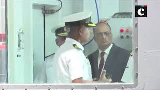 Admiral Sunil Lanba inaugurates Indian Navy's Nuclear, Biological & Chemical Training facility