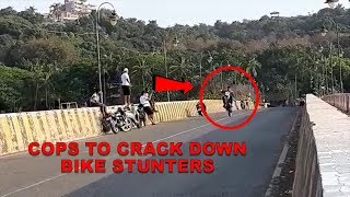 Bike stunts not on, cops to crack down