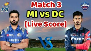 MI vs DC IPL 2019: Mumbai Indians vs Delhi Capitals Live Score