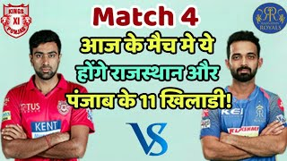 KXIP vs RR IPL 2019: Kings Eleven Punjab vs Rajasthan Royals Predicted Playing Eleven (XI)