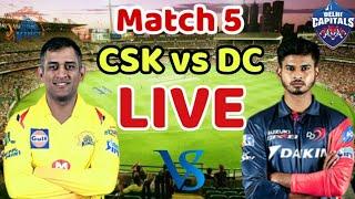 LIVE Chennai Super Kings vs Delhi Capitals Live Streaming | CSK vs DC Live Match