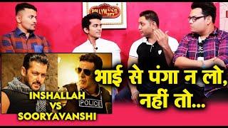 Salman's INSHALLAH Vs Akshays Sooryavanshi | Salman Khan FANS Reaction | Awam Ki AWaz