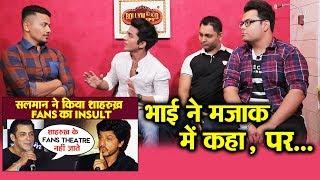Salman Khan FANS Reaction On Shahrukh Khan Fans INSULT By Bhai