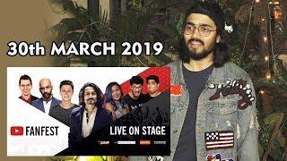 BB Ki Vines Bhuvan Bam OPENS On Youtube Fanfest 2019 At Jio Gardens | 30th March 2019