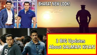 3 Big Updates About Salman Khan I Salman To Kapil I Salman On Shera's Son I Salman Bharat Look