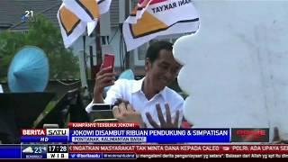 Ribuan Pendukung Hadiri Kampanye Jokowi di Pontianak