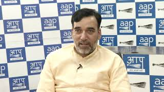 AAP Delhi Convenor Gopal rai Live Session on Why Statehood Matters For Delhi?
