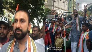 Feroz Khan Ka Opposition Ke Khilaaf Damdaar Bayaan | Chadarghat Mein Paidal Daura |