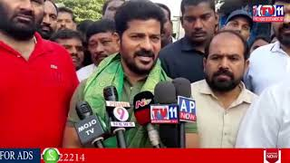 MALKAJGIRI CONGRESS MP CANDIDATE REVANTH REDDY ELECTION CAMPAIGN IN QUTHBULLAPUR, MEDCHAL
