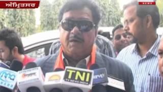 Film Star And BJP Leader Satrughan Sinha In Amritsar