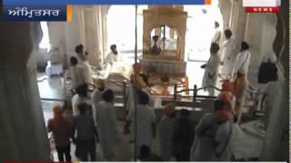 Clash In Akal Takhat Sahib Amritsar