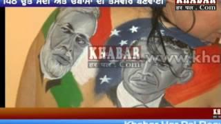 Modi-Obama Update : Actress Nataliya Kozhenova's love for India & America friendship