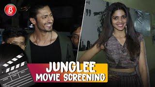 Vidyut Jammwal Pooja Sawant Steal The Show At Junglee' Screening