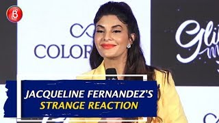 Jacqueline Fernandezs STRANGE Reaction On Hrithik Roshan's Make-Up