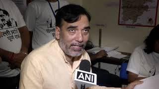 AAP Delhi Convenor Gopal Rai Inaugurates Central War Room For Lok Sabha Election