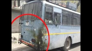 Explosion at Jammu highway as car hits CRPF bus, no casualties reported