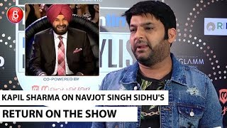 Kapil Sharma REACTS On Return Of Navjot Singh Sidhu In The Kapil Sharma Show