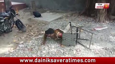 Nashe में लोटपोट होते punjab police के जवान का video viral
