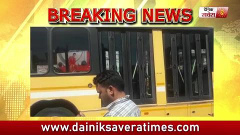 Breaking: Amritsar में BRTS Bus ने कुचली Car, गाड़ी में लगी आग