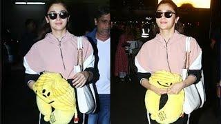 Lady Superstar ???? Alia Bhatt Spotted At Mumbai Airport ✈️ | Kalank | Inshallah | Brahmastra | Takht