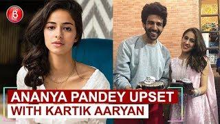 Is Ananya Panday upset with Kartik Aaryan over his growing friendship with Sara Ali Khan?
