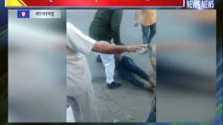 बाइक चोर चढ़ा लोगों के हत्थे || ANV NEWS NALAGARH - HIMACHAL PRADESH