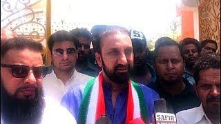 Feroz Khan And Esa Misri Paidal Daura At Chandrayangutta | Feroz Khan Challenges AIMIM.