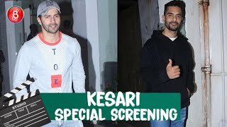 Varun Dhawan and other celebs attend the special screening of 'Kesari'