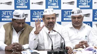 Eminent Political Leaders , Along with their Supporters Joined AAP In Presence of AAP Leader's