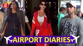 Airport Diaries: Sonam Kapoor & Nora Fatehi at their stylish best