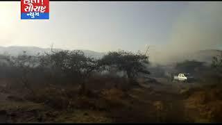 જેસરના કળજારા વિસ્તારમાં 50એકરમાં આગ