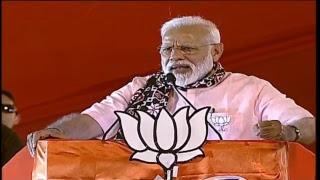 PM Shri Narendra Modi addresses public meeting in Secunderabad, Telangana - 01.04.2019