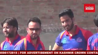 Abid Pathan performed inauguration Ceremony for T20 cricket at HMT Srinagar