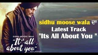 Sidhu Moosewala's latest track ''It's all about you'' l Dainik Savera