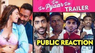 De De Pyaar De TRAILER | PUBLIC REACTION | Ajay Devgn, Tabu, Rakul Preet Singh
