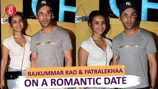 Rajkummar Rao & GF Patralekhaa Out On A Romantic Dinner Date