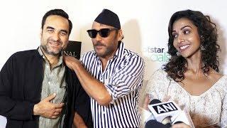 Special Screening Of Hotstar Series Criminal Justice   Jackie Shroff Anupriya Goenka