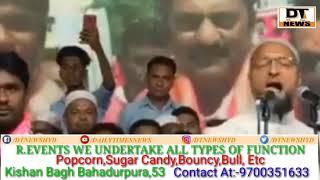 Asad owaisi | Hot Reply To Narender Modi in | Says Poori Car Meri Hai