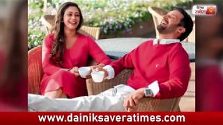 Jimmy Shergill with his wife | Cute Couple | Dainik Savera