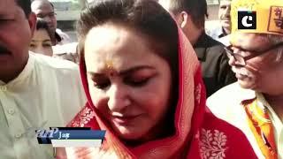 Jaya Prada offers prayers in Rampur ahead of filing nomination