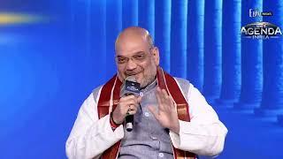 Shri Amit Shah at #News18AgendaIndia