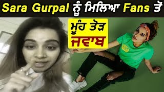 Big News ! Sara Gurpal Troll By Fans l Dainik Savera
