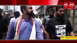 [ Hyderabad ] हैदराबाद में कांग्रेस के उम्मीदवार फिरोज खान ने निकाली रैली  / THE NEWS INDIA