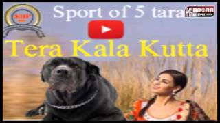 5 Taara Diljit Dosanjh Kala Kutta Funny Spoof Song by Happy Manila Punjabi Song 2016
