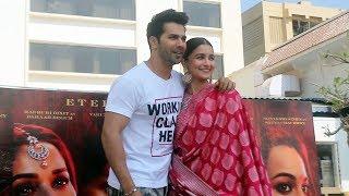 Varun Dhawan And Alia Bhatt At Sun And Sand Juhu | KALANK Movie Promotion