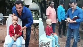 Salman Khans Sweet Gesture Towards This Special Kid Will Melt Your Heart